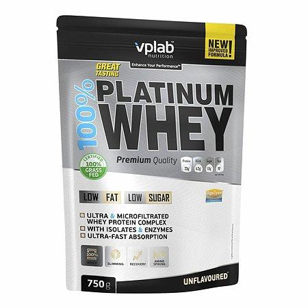 Протеин VPLAB Platinum Whey 100% натуральный 750г
