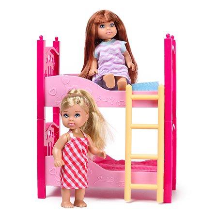 Набор мини-кукол Demi Star с кроваткой 2 шт. 88003