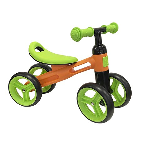 Беговел Нордпласт 4колесный Оранжевый-Зеленый 431018