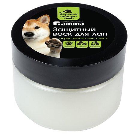 Воск для собак GAMMA для лап защитный 100мл 10502001