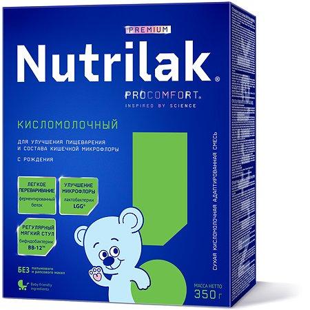 Смесь Nutrilak Premium сухая кисломолочная 350г с 0мес