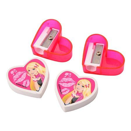 Набор канцелярский Kinderline Barbie BRFLR-11S-2204-H