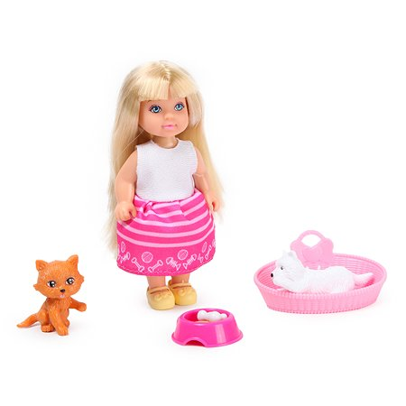 Набор Demi Star Мини-кукла с питомцем 88009