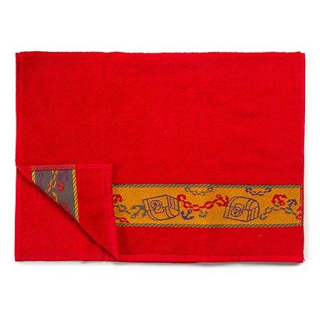Полотенце Cleanelly Пират 70х120 цв.красный хангер