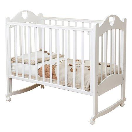 Кровать детская Красная Звезда (Можга) Любаша белый