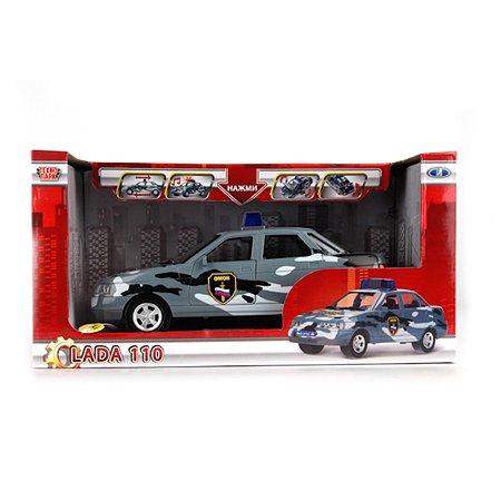Машина Технопарк LADA 110 ОМОН свет+звук