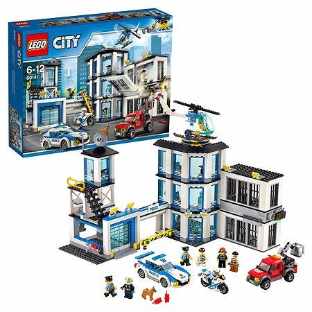 Конструктор LEGO City Police Полицейский участок (60141)