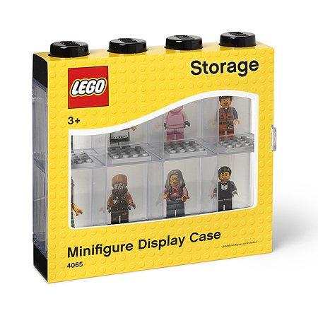 Дисплей для минифигур LEGO 8 шт черный