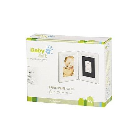 Рамочка BabyArt двойная (белая)
