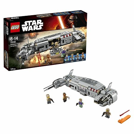 Конструктор LEGO Star Wars TM Военный транспорт Сопротивления™ (75140)