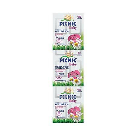Пластинки от комаров PICNIC детские Baby Арнест