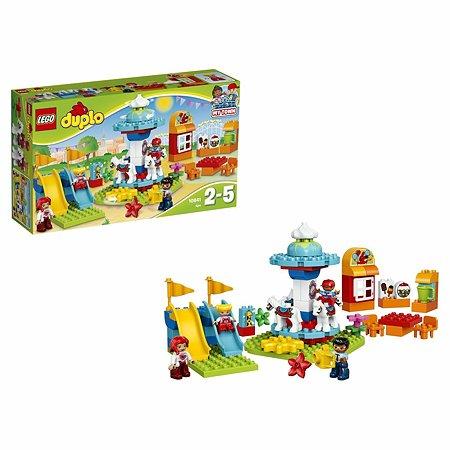 Конструктор LEGO DUPLO Town Семейный парк аттракционов (10841)