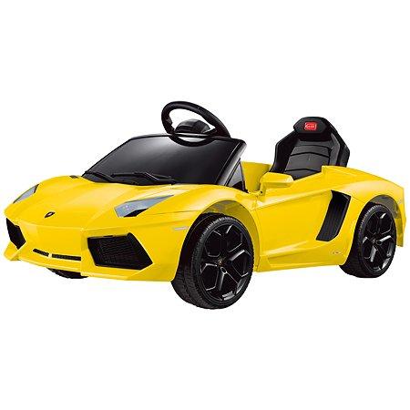 Электромобиль Rastar Lamborghini Aventador Желтый