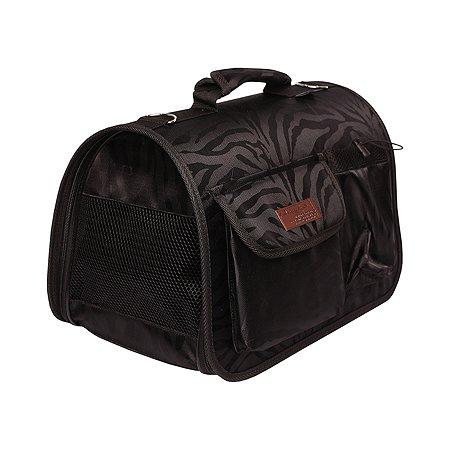 Сумка-переноска для животных LIONMANUFACTORY с карманами Черный LM6420-2