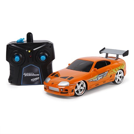 Машина Fast and Furious Jada 1:24 РУ 1995 Toyota Supra-Orange 97602