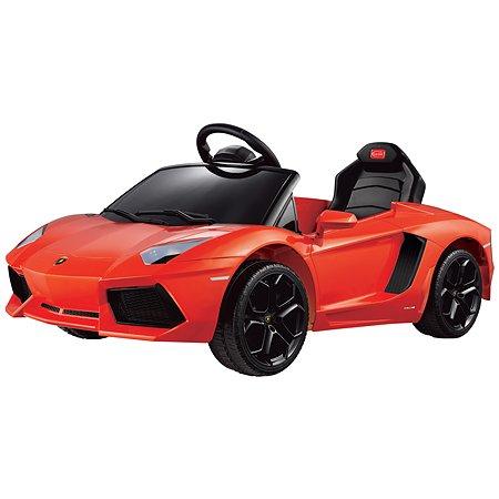 Электромобиль Rastar Lamborghini Aventador Оранжевый