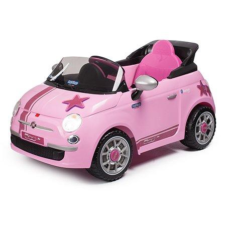 Электромобиль Peg-Perego ДУ Fiat 500 Star Розовый IGED1174
