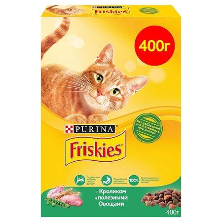 Корм сухой для кошек Friskies 400г с кроликом и полезными овощами