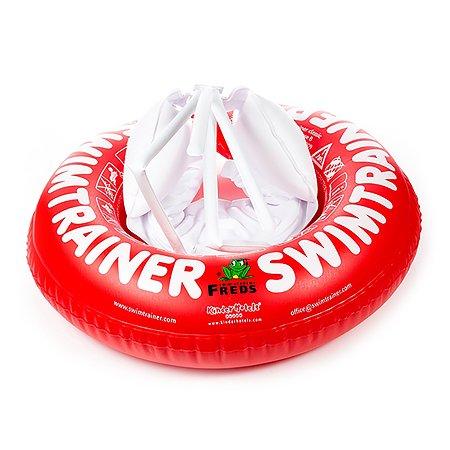 Круг надувной Freds Swim Academy Swimtrainer «Сlassic» для обучения плаванию (3 мес-4 года) Красный