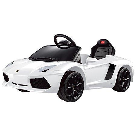 Электромобиль Rastar Lamborghini Aventador Белый