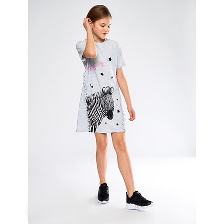 Платье Futurino серое