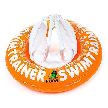 Круг надувной Freds Swim Academy Swimtrainer «Сlassic» для обучения плаванию (2-6лет) Оранжевый
