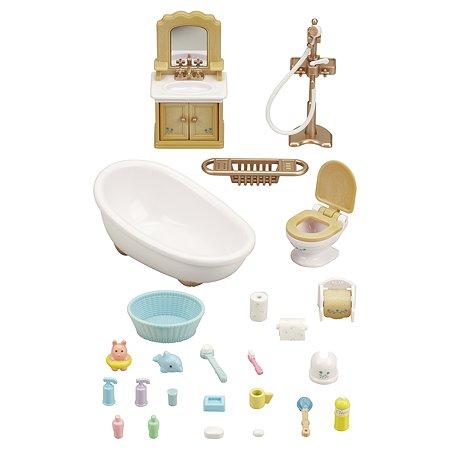 Набор Sylvanian Families Мебель для ванной комнаты 5286