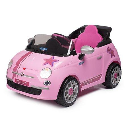 Электромобиль Peg-Perego Fiat 500 Star Розовый IGED1172