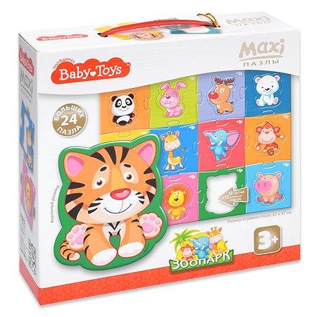 Пазл Десятое королевство Baby toys Зоопарк Maxi 02508