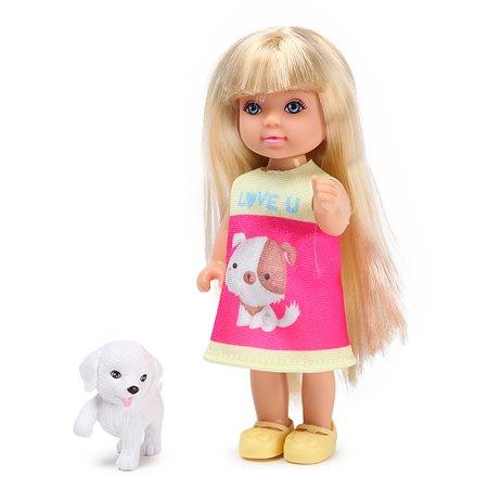 Набор Demi Star Мини-кукла с животным в ассортименте 88028