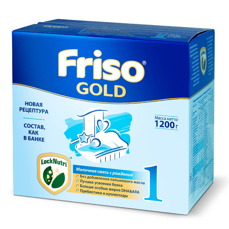 Смесь Friso Gold 1 LockNutri 1200г с 0месяцев