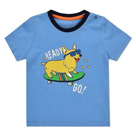 Футболка BabyGo голубая