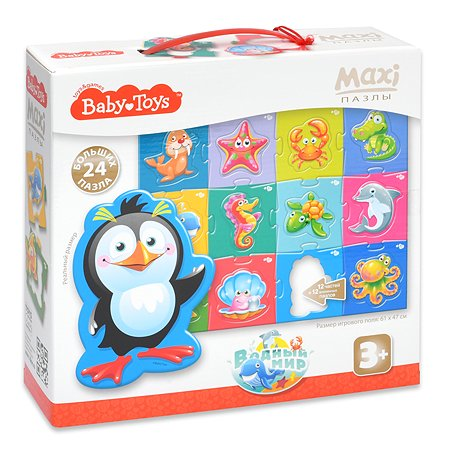 Пазл Десятое королевство Baby toys Водный мир Maxi 02511
