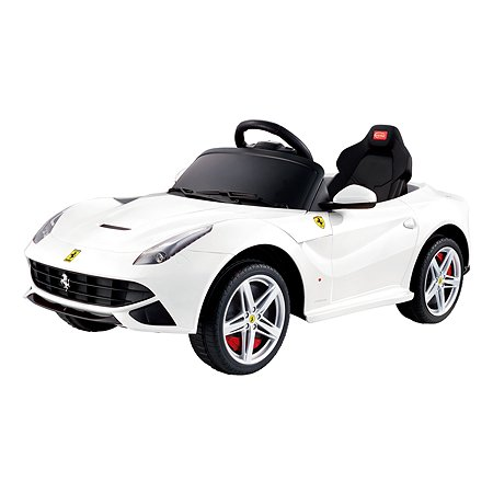 Электромобиль Rastar Ferrari F12 Белый