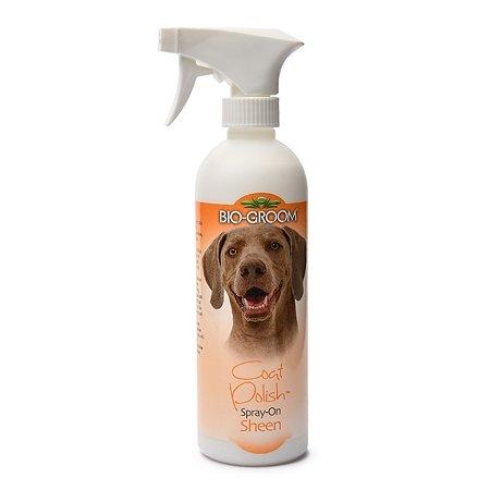 Блеск-антиколтун для шерсти кошек и собак BIO-GROOM Coat Polish 473 мл