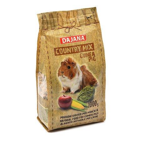 Корм для морских свинок DAJANA Country Mix 1кг DP402K