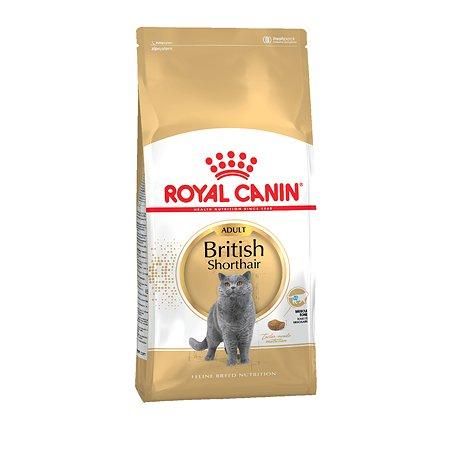 Корм сухой для кошек ROYAL CANIN British Shorthair 10кг британской короткошерстной породы