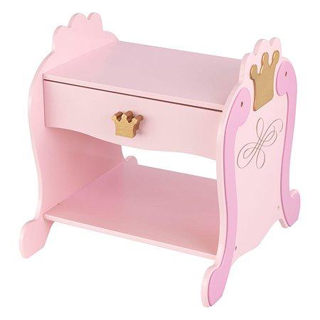 Столик прикроватный KidKraft Принцесса 76124_KE