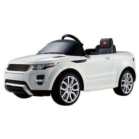 Электромобиль Rastar Land Rover Evoque Белый