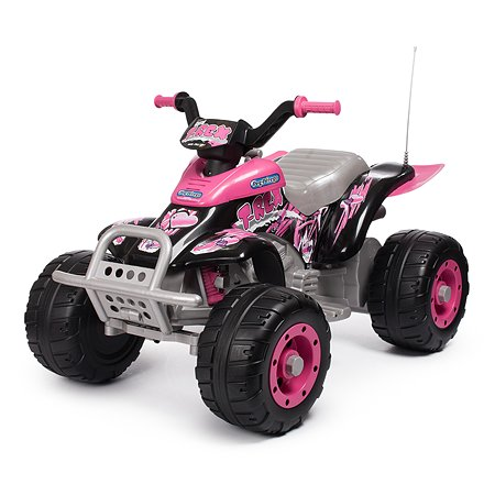 Электроквадроцикл Peg-Perego Corral T-Rex Розовый IGOR0073