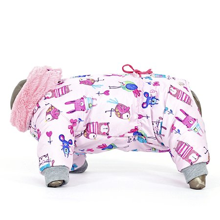 Комбинезон для собак YORIKI Розовый сон M 650-22