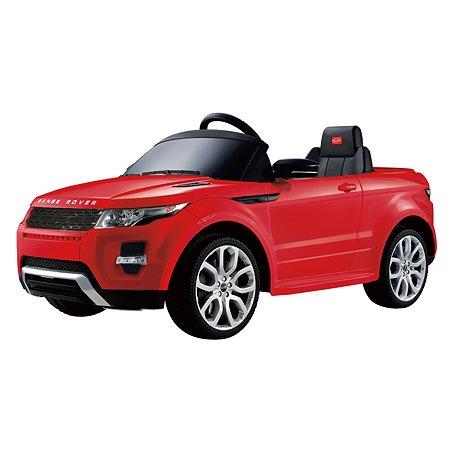 Электромобиль Rastar Land Rover Evoque Красный
