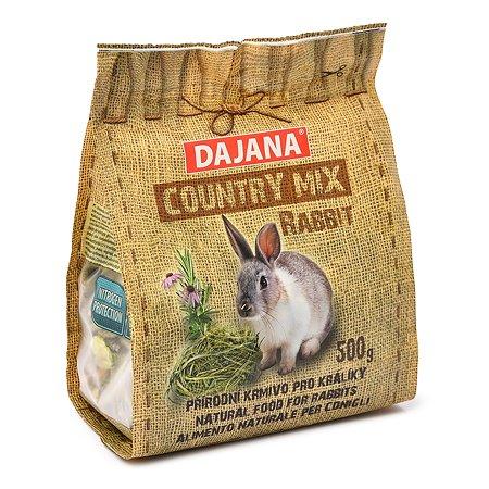 Корм для кроликов DAJANA Country Mix 500г DP404J