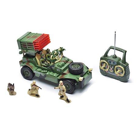 Военный джип р/у Mioshi с зенитым устройством