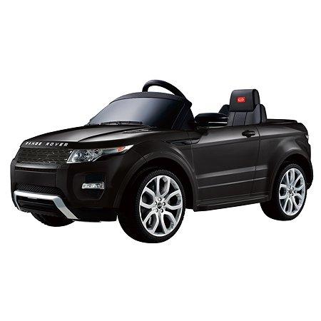 Электромобиль Rastar Land Rover Evoque Черный
