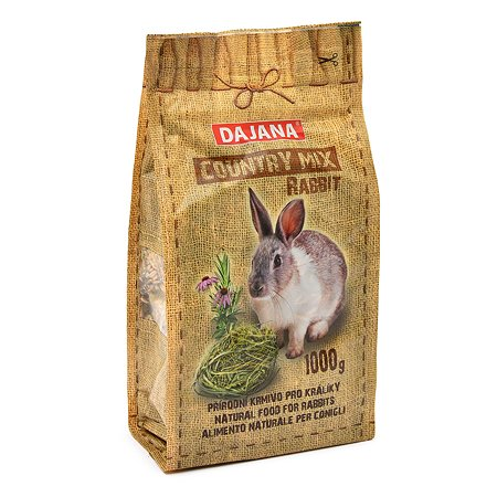 Корм для кроликов DAJANA Country Mix 1кг DP404K