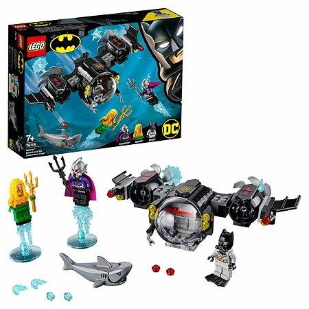 Конструктор LEGO Super Heroes Подводный бой Бэтмена 76116