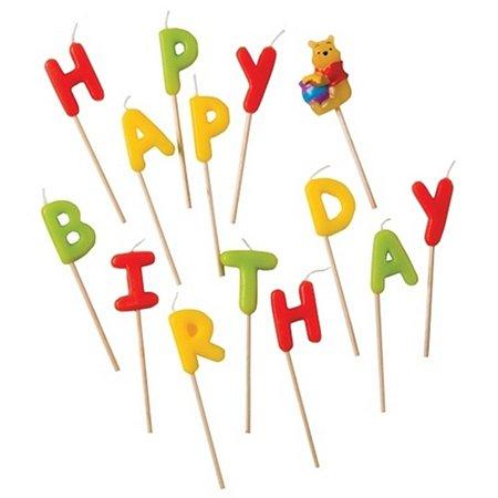 Свечи-Буквы PROCOS ВИННИ HAPPY BIRTHDAY