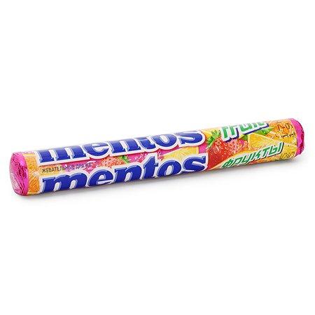 Жевательные драже Ментос фрукты 38г