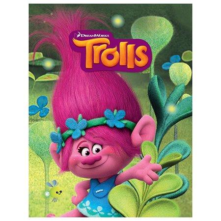 Блокнот для записей А6 DreamWorks 80 листов TROLLS
